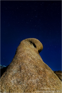 Gary Hart Photography: Cassiopeia Above Mobius Arch, Alabama Hills, California