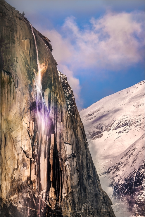 Gary Hart Photography: Horsetail Fall Rainbow, El Capitan, Yosemite