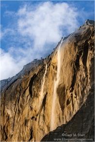 Gary Hart Photography: Horsetail Fall Before the Show, El Capitan, Yosemite
