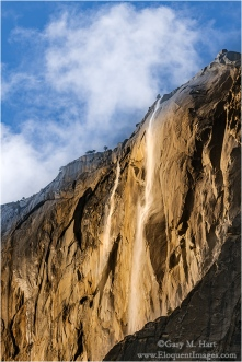 Gary Hart Photography: Horsetail Fall Before the Show, El Capitan, Yosemite
