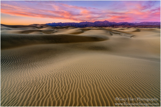 Gary Hart Photography: Painted Dunes, Mesquite Flat Dunes, Death Valley