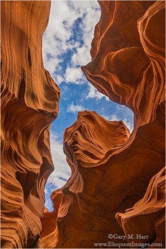 Gary Hart Photography: Looking Up, Lower Antelope Canyon, Arizona