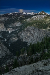 Gary Hart Photography: High Sierra Moonrise, Glacier Point, Yosemite