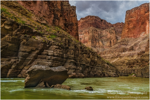 Gary Hart Photography: River Rock, Colorado River, Grand Canyon