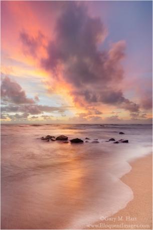 Gary Hart Photography: Hawaii Daybreak, Lydgate Park, Kauai, Hawaii
