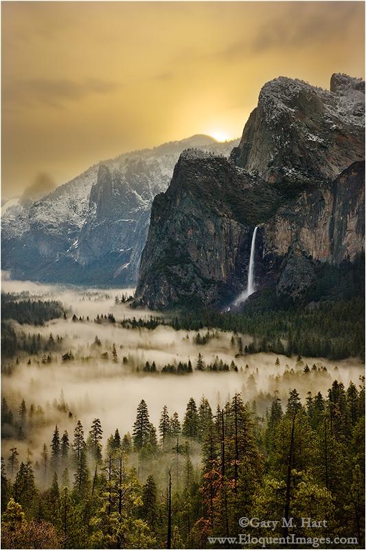 Gary Hart Photography: First Light, Yosemite Valley