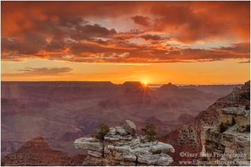 Gary Hart Photography: Here Comes the Sun, Mather Point, Grand Canyon