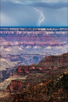 Gary Hart Photography: Electric Dance, Grand Canyon