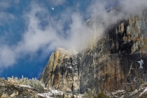 Gary Hart Photography: Half Dome Half Moon, Yosemite