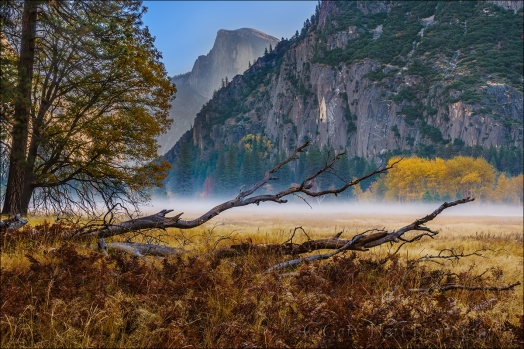 Gary Hart Photography: Autumn Morning, Leidig Meadow, Yosemite