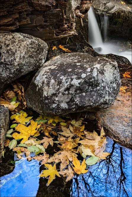Gary Hart Photography: Autumn Pool and Cascade, Bridalveil Creek, Yosemite