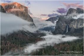 Gary Hart Photography: Valley Fog, Tunnel View, Yosemite