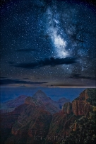 Gary Hart Photography: Milky Way, Walhalla Point, Grand Canyon