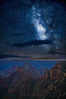 Gary Hart Photography: Milky Way, Walhalla Point, Grand Canyon