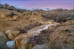 Gary Hart Photography: Winter Dawn, Mt. Whitney and the Alabama Hills, California