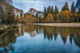 Gary Hart Photography: Autumn Mirror, Half Dome, Yosemite