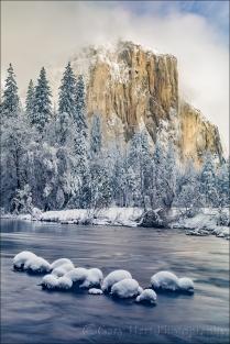 Gary Hart Photography: Snowcap, El Capitan, Yosemite