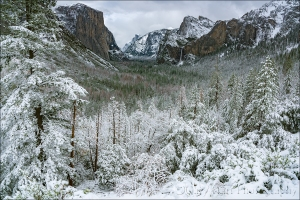 Gary Hart Photography: Snowfall, Tunnel View, Yosemite