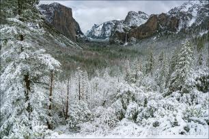 Gary Hart Photography: Snowfall, Tunnel View, Yosemite