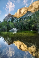 Gary Hart Photography: Half Dome Reflection, Mirror Lake, Yosemite