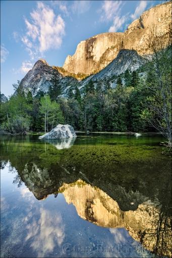 Gary Hart Photography: Half Dome Reflection, Mirror Lake, Yosemite