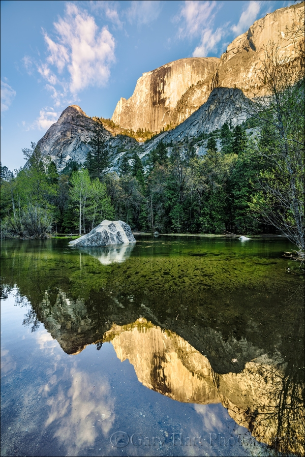 Gary Hart Photography: Evening Reflection, Mirror Lake, Yosemite