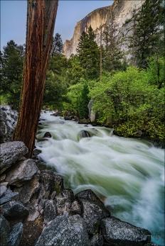 Gary Hart Photography: Half Dome and Tenaya Creek Rapids, Yosemite