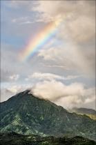 Gary Hart Photography: Mountain Rainbow, Kauai