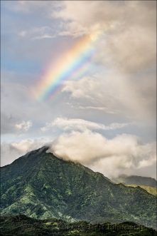 Gary Hart Photography: Mountain Rainbow, Kauai
