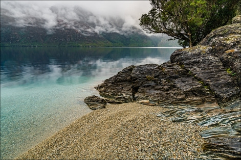 Gary Hart Photography: Overcast, Lake Wakatipu, New Zealand