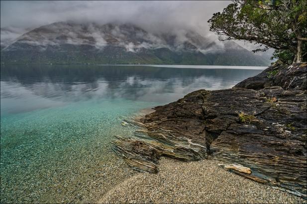 Gary Hart Photography: Heavy Sky, Lake Wakatipu, New Zealand