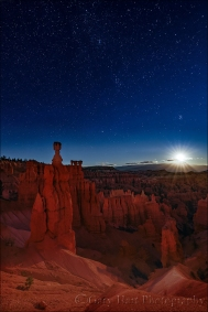 Gary Hart Photography: Moonstar, Bryce National Park, Utah