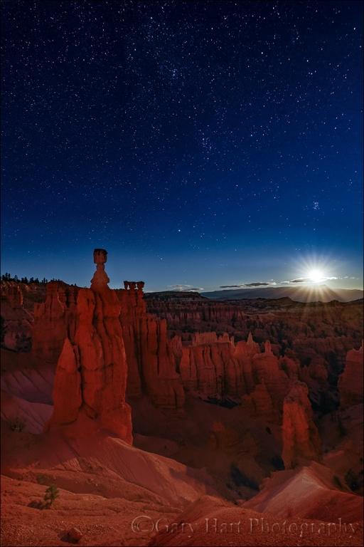 Gary Hart Photography: Moonstar, Bryce National Park, Utah