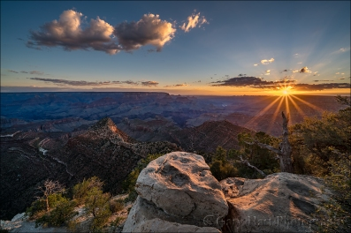Gary Hart Photography: New Day, Grandview Point Sunstar, Grand Canyon