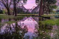 Gary Hart Photography: Spring Sunset, Leidig Meadow, Yosemite