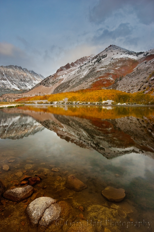 Gary Hart Photography: Autumn Reflection, North Lake, Eastern Sierra