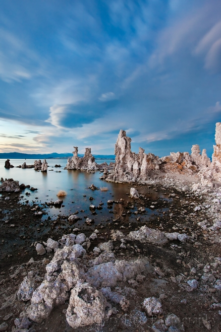 Gary Hart Photography: Blue Hour, South Tufa, Mono Lake