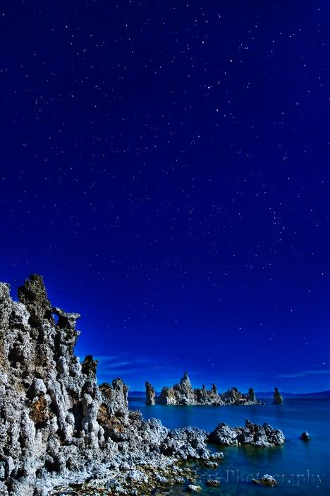 Gary Hart Photography: Moonlight, South Tufa, Mono Lake