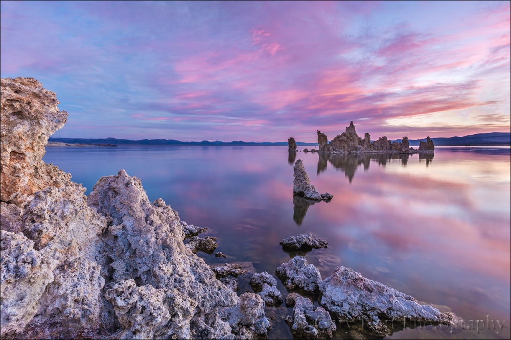 Gary Hart Photography: Before the Sun, South Tufa, Mono Lake