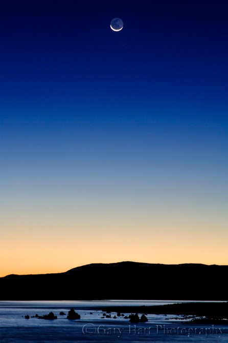 Gary Hart Photography: Sunrise Crescent, Mono Lake