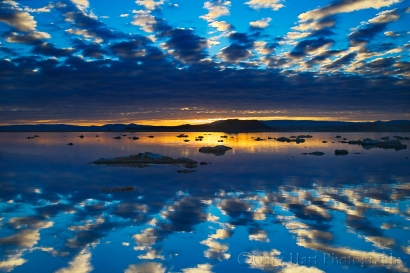 Gary Hart Photography: Sunrise Mirror, Mono Lake
