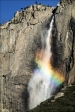 Gary Hart Photography: Winter Rainbow, Upper Yosemite Fall, Yosemite