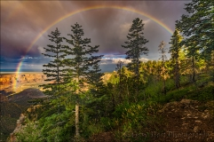 Gary Hart Photography: Heaven Sent, Grand Canyon Rainbow