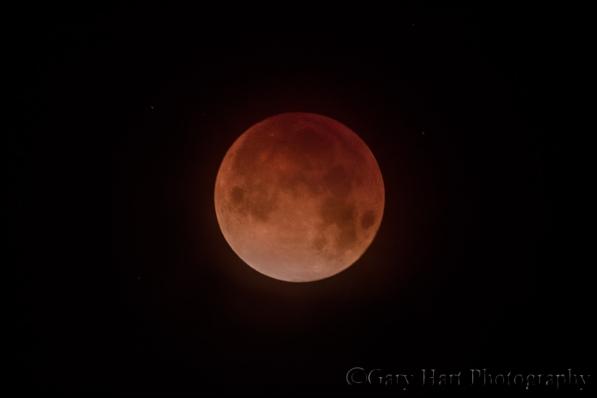 Gary Hart Photography: Blood Moon, Death Valley, California