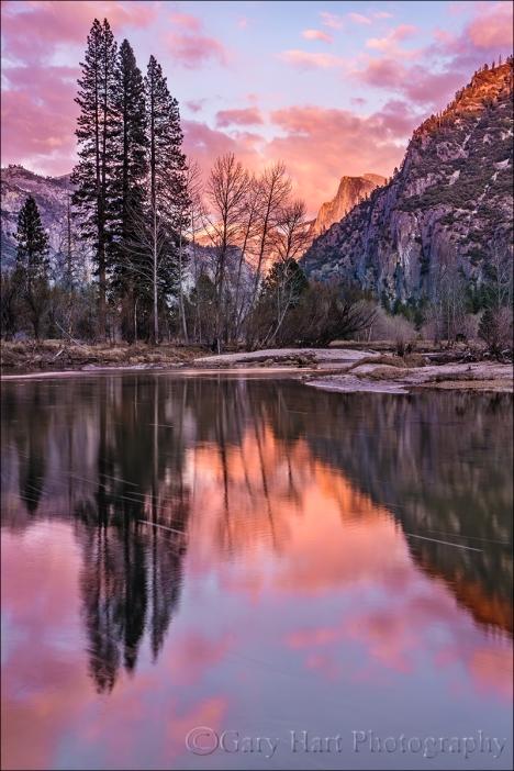 Gary Hart Photography: Last Light, Half Dome, Yosemite