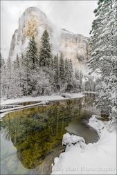 Gary Hart Photography: Storm Clouds, El Capitan, Yosemite