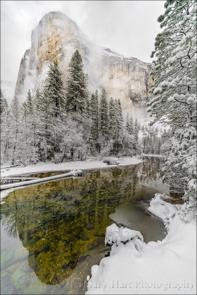 Gary Hart Photography: Storm Clouds, El Capitan, Yosemite