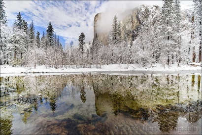 Gary Hart Photography: Clearing Storm Reflection, El Capitan, Yosemite