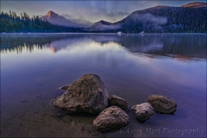 Morning Stillness, Lost Lake and Mt. Hood, Oregon