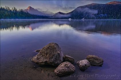 Morning Stillness, Lost Lake and Mt. Hood, Oregon